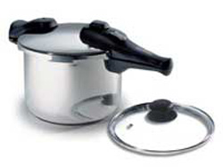 Chef's Design 4.5 L Stainless Steel Pressure Cooker